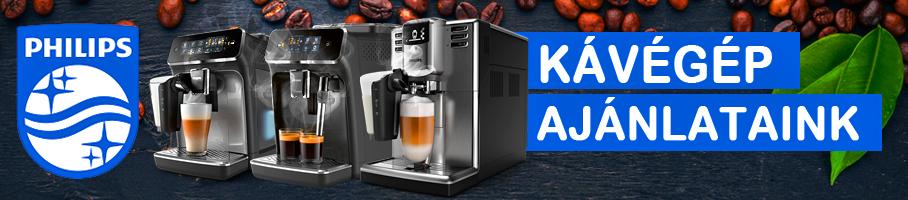 A kávéfőzés új korszaka! Philips kávégépek