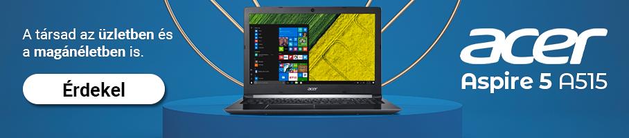 Itt az ÚJ Acer Aspire A515! Nézd meg kínálatunkat