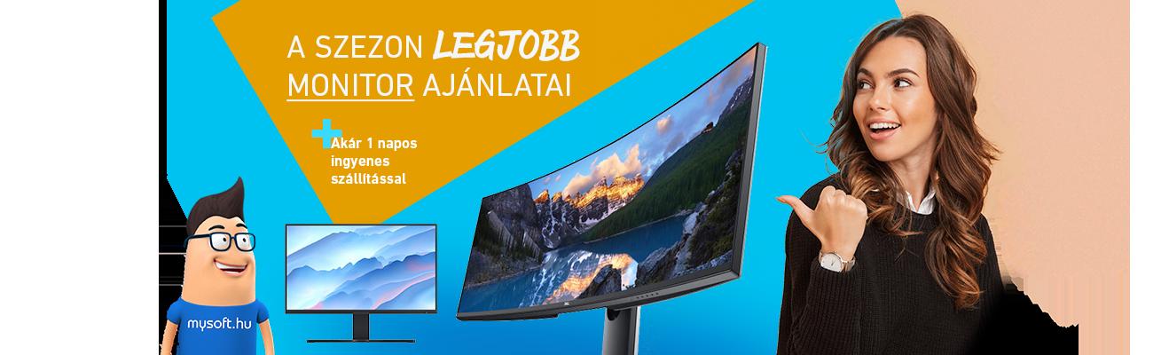 Monitor kisöprés!
