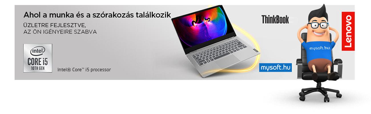 Megérkezett! Lenovo Thinkbook 13S - Elegancia és szórakozás