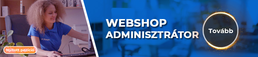 Webshop adminisztrátor