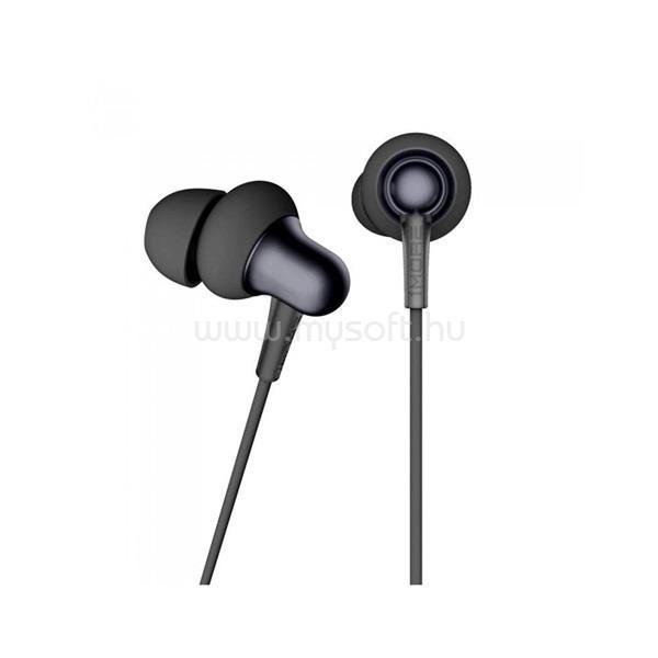1MORE E1025 Stylish/kettős meghajtós/mikrofonos/hallójárati/fekete/fülhallgató