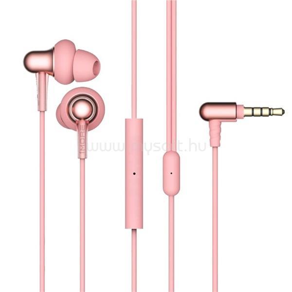 1MORE E1025 Stylish/kettős meghajtós/mikrofonos/hallójárati/rózsaszín/fülhallgató