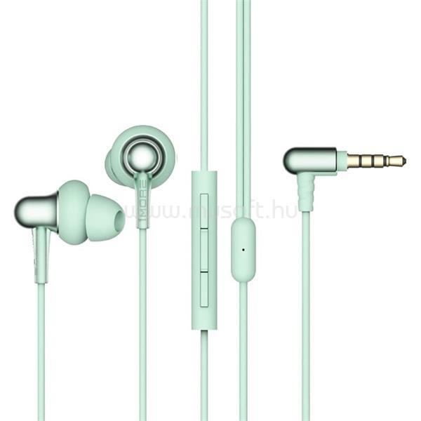 1MORE E1025 Stylish/kettős meghajtós/mikrofonos/hallójárati/zöld/fülhallgató
