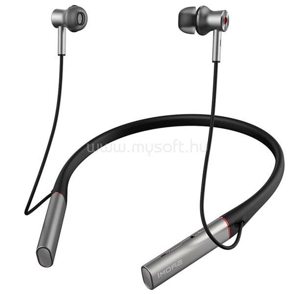 1MORE E1004BA Bluetooth aktív zajszűrős nyakpántos szürke fülhallgató