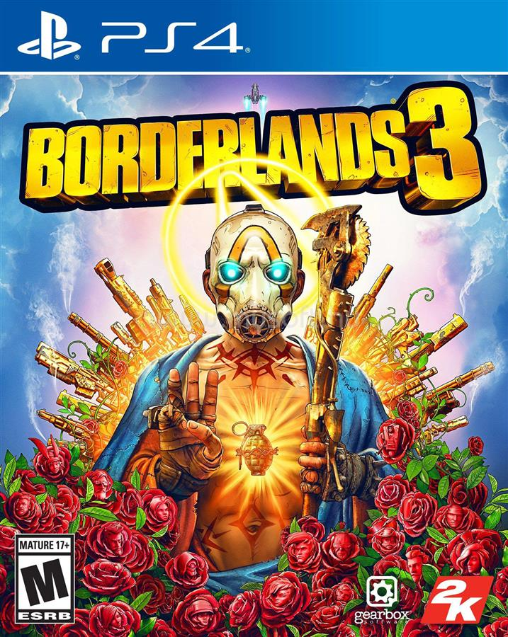 2K Borderlands 3 PS4 játékszoftver