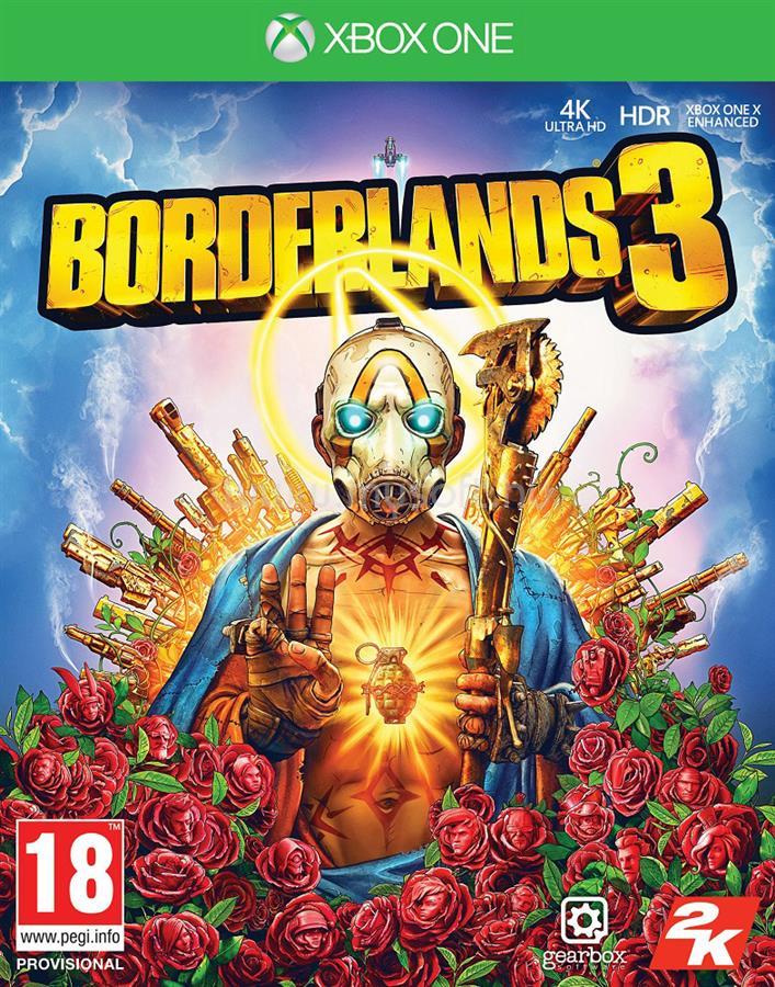 2K Borderlands 3 Xbox One játékszoftver