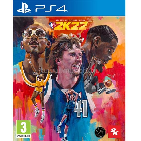 2K GAMES NBA 2K22 75th Anniversary Edition PS4 játékszoftver