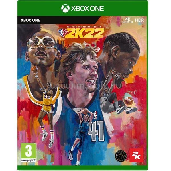 2K GAMES NBA 2K22 75th Anniversary Edition Xbox One játékszoftver