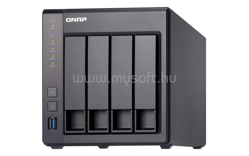 QNAP NAS, 8GB DDR3 SODIMM RAM (max 8GB), SATA 6Gb/s, 1x 10GbE SFP+ LAN, 2x GbE