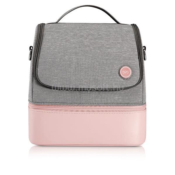 59S P14 UVC LED Sterilizáló kismama táska rózsaszín
