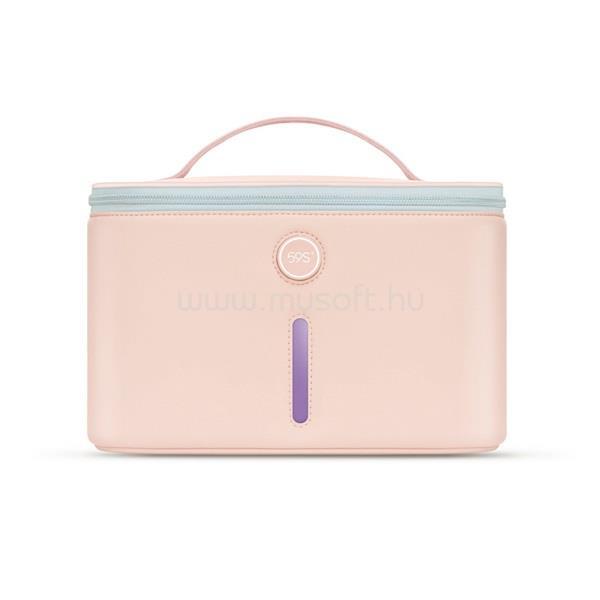 59S P26 UVC LED Sterilizáló táska rózsaszín