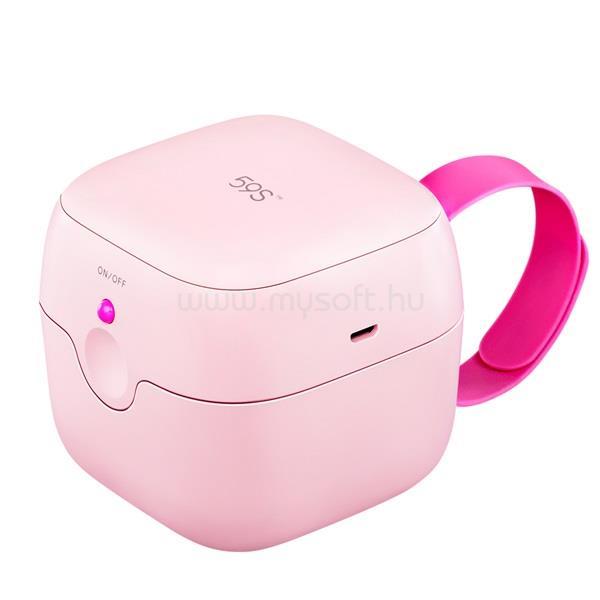 59S S6 UVC LED Mini sterilizáló doboz rózsaszín