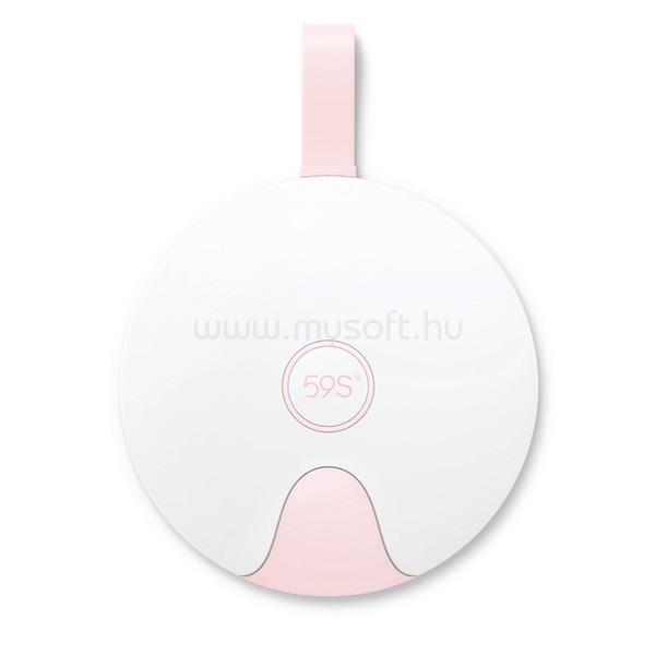 59S S8 UVC LED Multifunkcionális sterilizáló fedél rózsaszín