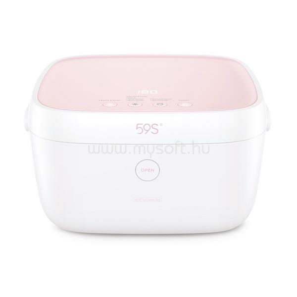 59S T5 UVC LED Sterilizáló doboz rózsaszín