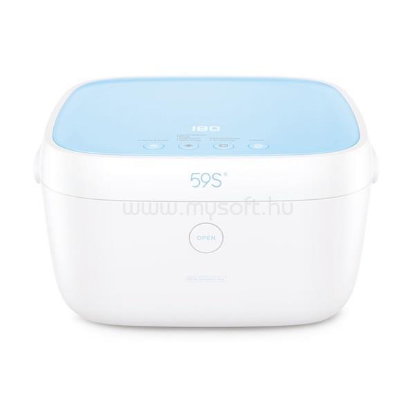59S T5BAT UVC LED Sterilizáló doboz kék akkumulátorral