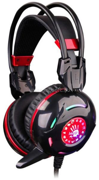 A4-TECH Bloody G300 sztereo USB fekete-piros gamer headset