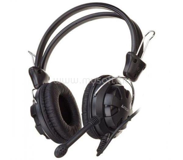 A4-TECH fekete gamer headset