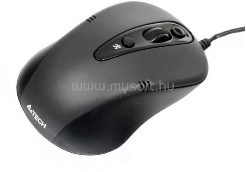 A4-TECH N-370FX-1 fekete USB egér