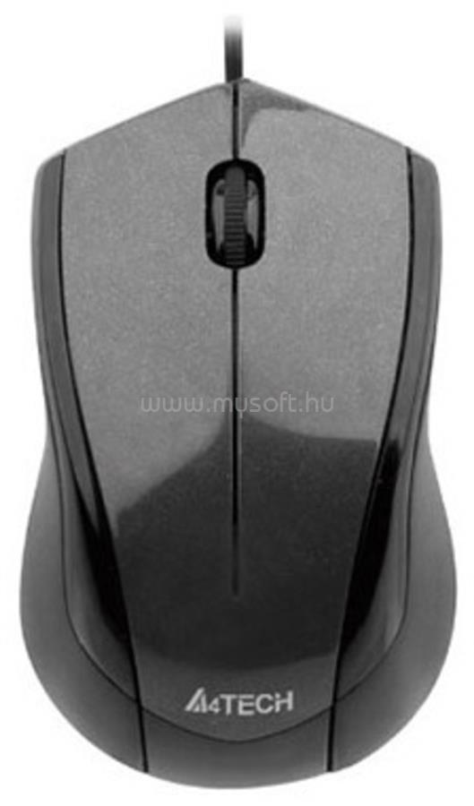 A4-TECH N-400-1 V-Track USB szürke egér
