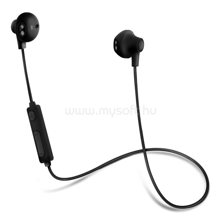 ACME BH102 Bluetooth fekete sztereó fülhallgató