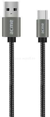 ACME B2041G 1m asztroszürke Type-C - USB kábel