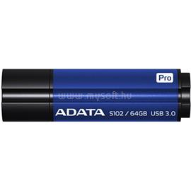 ADATA S102 Pro Advanced Pendrive 64GB USB3.0 (kék), AS102P-64G-RBL