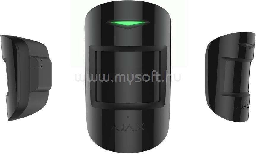 AJAX CombiProtect vezetéknélküli mozgás és üvegtörés érzékelő (fekete)