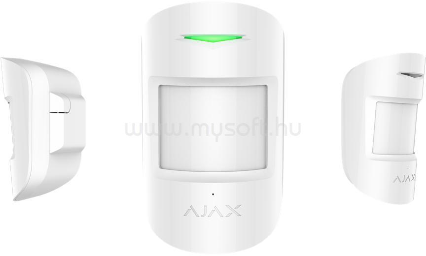 AJAX CombiProtect vezetéknélküli mozgás és üvegtörés érzékelő (fehér)