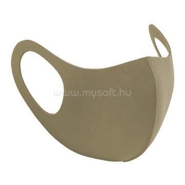 ALCOR 3D Spandex mosható maszk - Bézs
