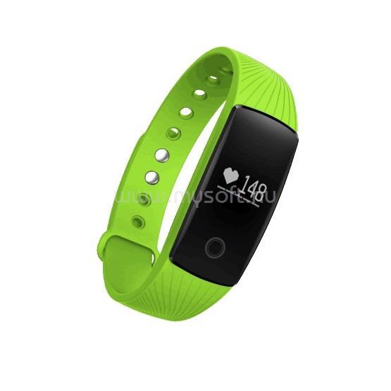 ALCOR Move Aktivitásmérő Karpánt / Okos óra Kiwi Zöld