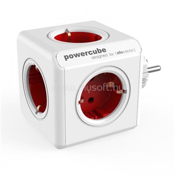 ALLOCACOC PowerCube Original 5-ös piros hálózati elosztó