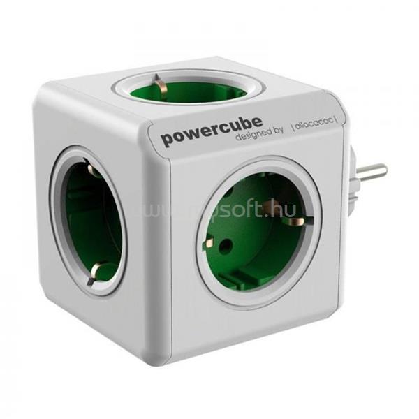 ALLOCACOC PowerCube Original 5-ös zöld hálózati elosztó