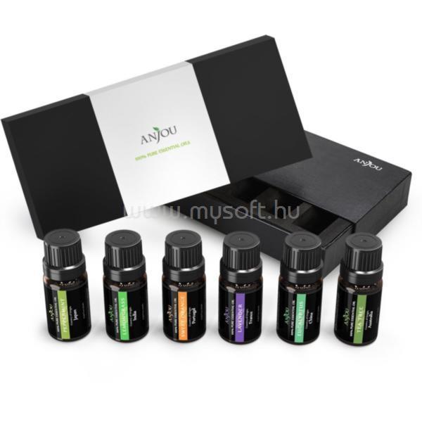 ANJOU AJ-ES001 6-féle illat, illóolaj csomag