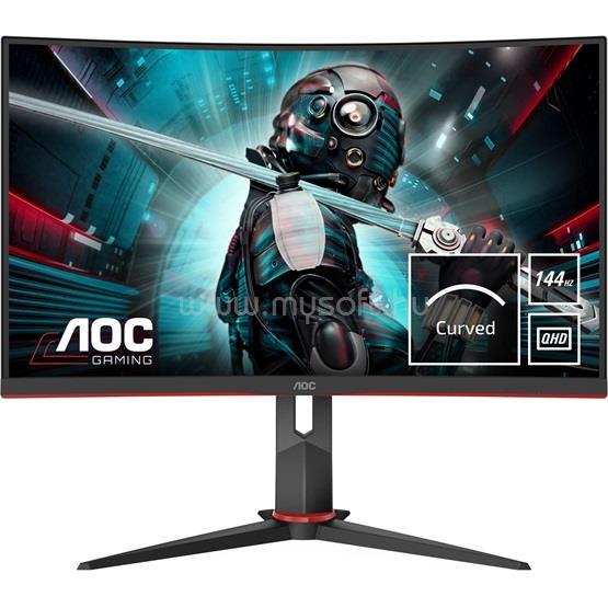 AOC CQ27G2U/BK Ívelt Monitor