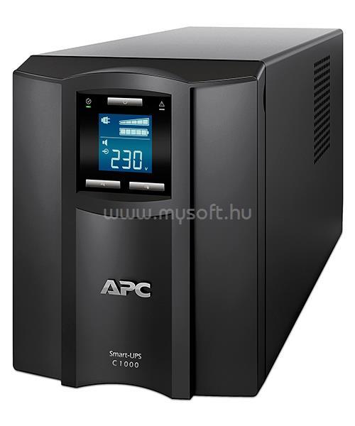 APC UPS 1000VA C13/C14 Smart Vonali-interaktív LCD
