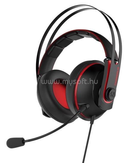 ASUS Cerberus V2 Gamer Fekete/Vörös headset
