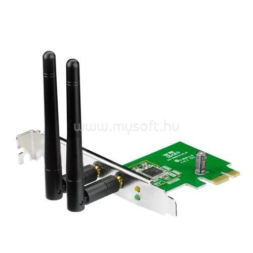 ASUS PCE-N15 PCI-e vezetéknélküli 300Mbps adapter