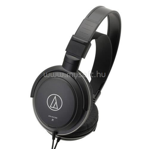 AUDIO-TECHNICA ATH-AVC200 Fejhallgató (fekete) AT-ATHAVC200 large