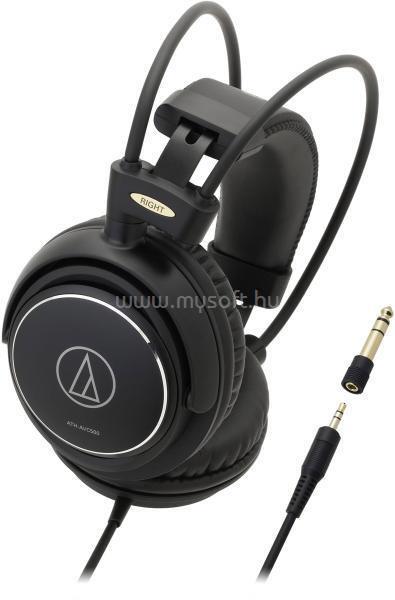 AUDIO-TECHNICA ATH-AVC500 Fejhallgató (fekete)