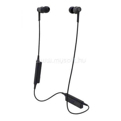 AUDIO-TECHNICA ATH-CKR35BTBK Bluetooth fülhallgató headset (fekete)