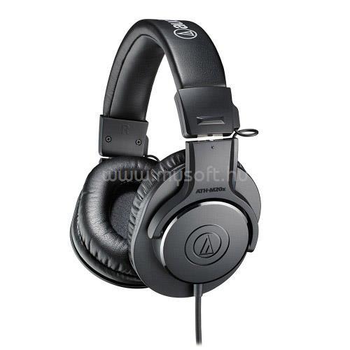 AUDIO-TECHNICA ATH-M20x Professzionális monitor fejhallgató