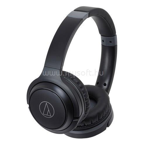 AUDIO-TECHNICA ATH-S200BTBK Bluetooth fejhallgató headset (fekete)