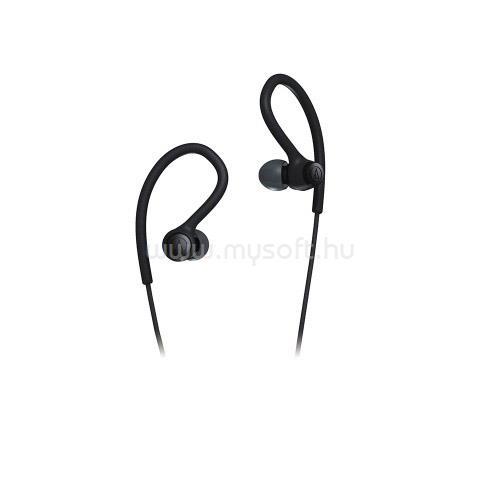 AUDIO-TECHNICA ATH-SPORT10 Sport fülhallgató (fekete)