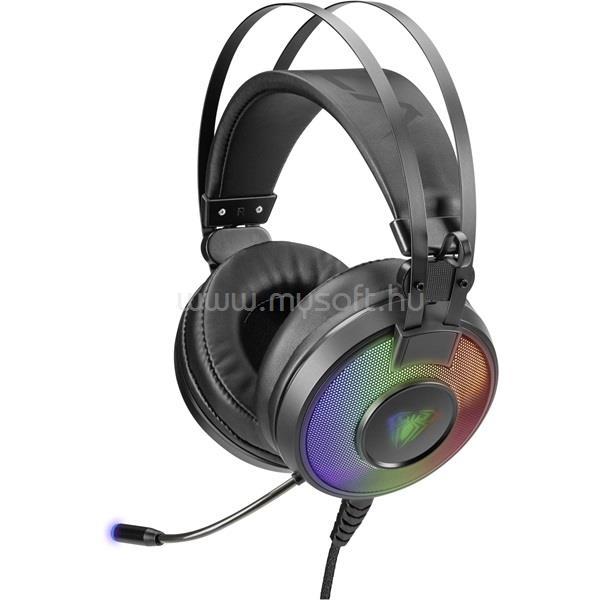 AULA Eclipse mikrofonos gamer fejhallgató