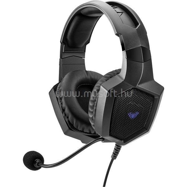 AULA Heleus mikrofonos 7.1 gamer fejhallgató