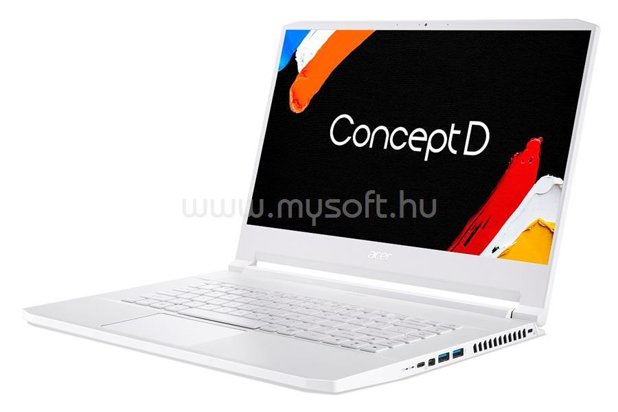 ACER ConceptD 7 Pro CN715-72P-71ZH (fehér)