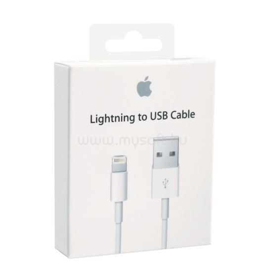 APPLE Lightning > USB (töltő) kábel 1m