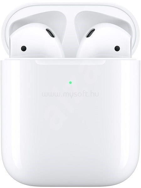 APPLE AirPods 2 Bluetooth fülhallgató és vezeték nélküli töltőtok