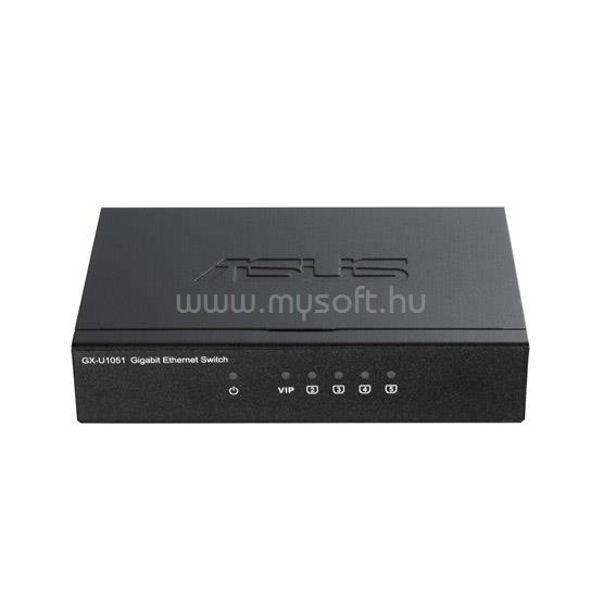 ASUS 5 portos Gigabites Plug-n-Play Compact Switch